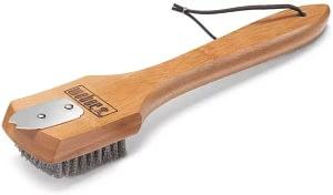 Weber 6463 12-Inch Bamboo Grill Brush