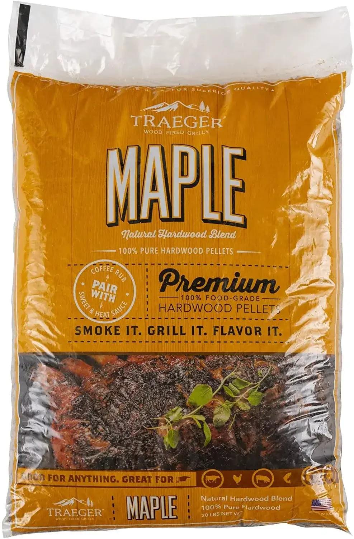 Traeger Grills Maple Wood Pellet