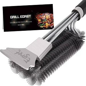 Egret Premium Quality Grill Brush